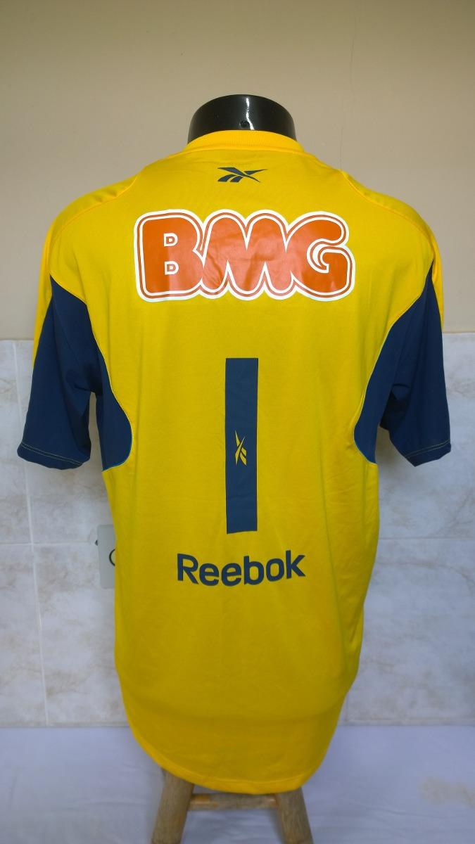 Carregando zoom... camisa futebol do cruzeiro - reebok 1b1859d4a18d0