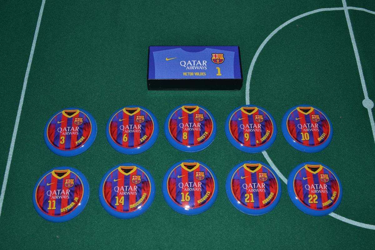 49024dce1e futebol de botão - barcelona. Carregando zoom.