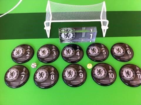0496500281f19 Futebol De Botão Chelsea + Brinde - R  63