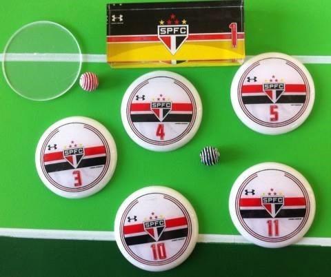 futebol de botão corinthinas e são paulo + brinde