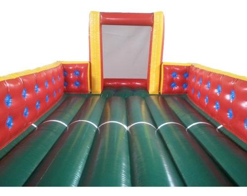 futebol de sabão inflável 4m x 8m premium - frete grátis