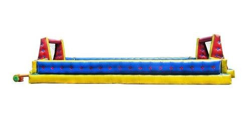 futebol de sabão inflável 6m x 12m - frete grátis
