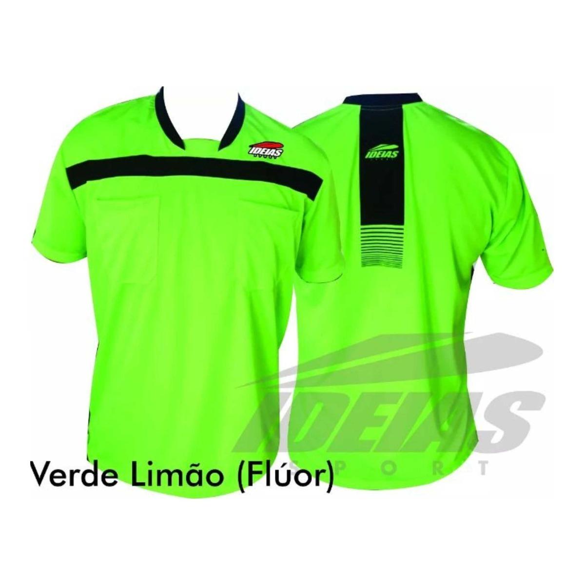 Camisa Árbitro De Futebol Arbitragem Futsal Esporte Original - R  42 ... fe63194705d33