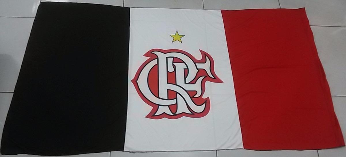 a8e1ca95509fa Bandeiras De Times De Futebol - Flamengo - R  27