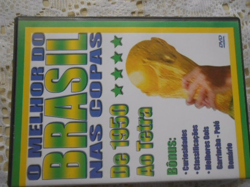 futebol lote c/ 3 dvd's copa do mundo e outros loucura preço