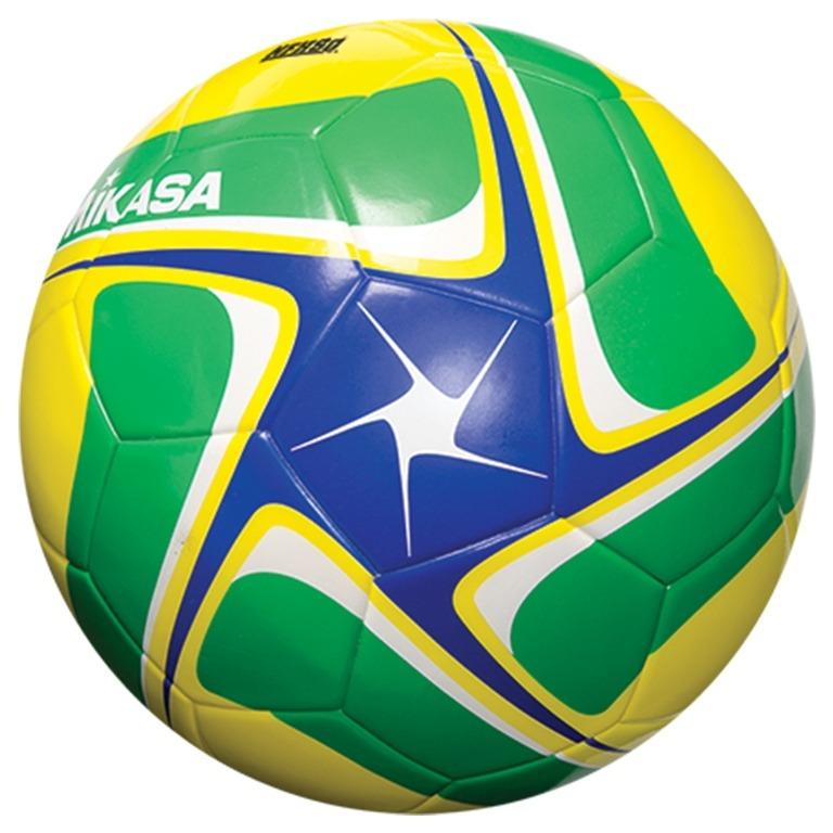 Bola Futebol Campo Sce501 Bgy Mikasa - Amarelo verde azul - R  72 7ae189f6d420e
