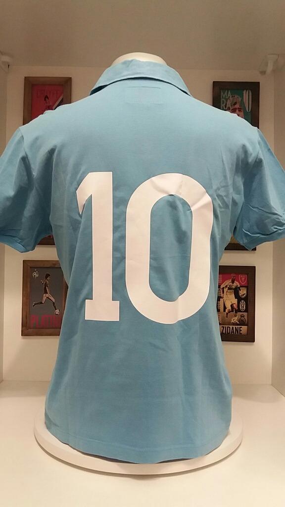 Carregando zoom... camisa futebol napoli liga retro maradona e6dc2d8efd764