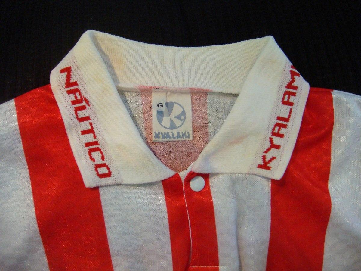Camisa Futebol Nautico Recife Pe Kyalami Jogo Antiga 1437 - R  549 ... fb3e5e8a82ed0