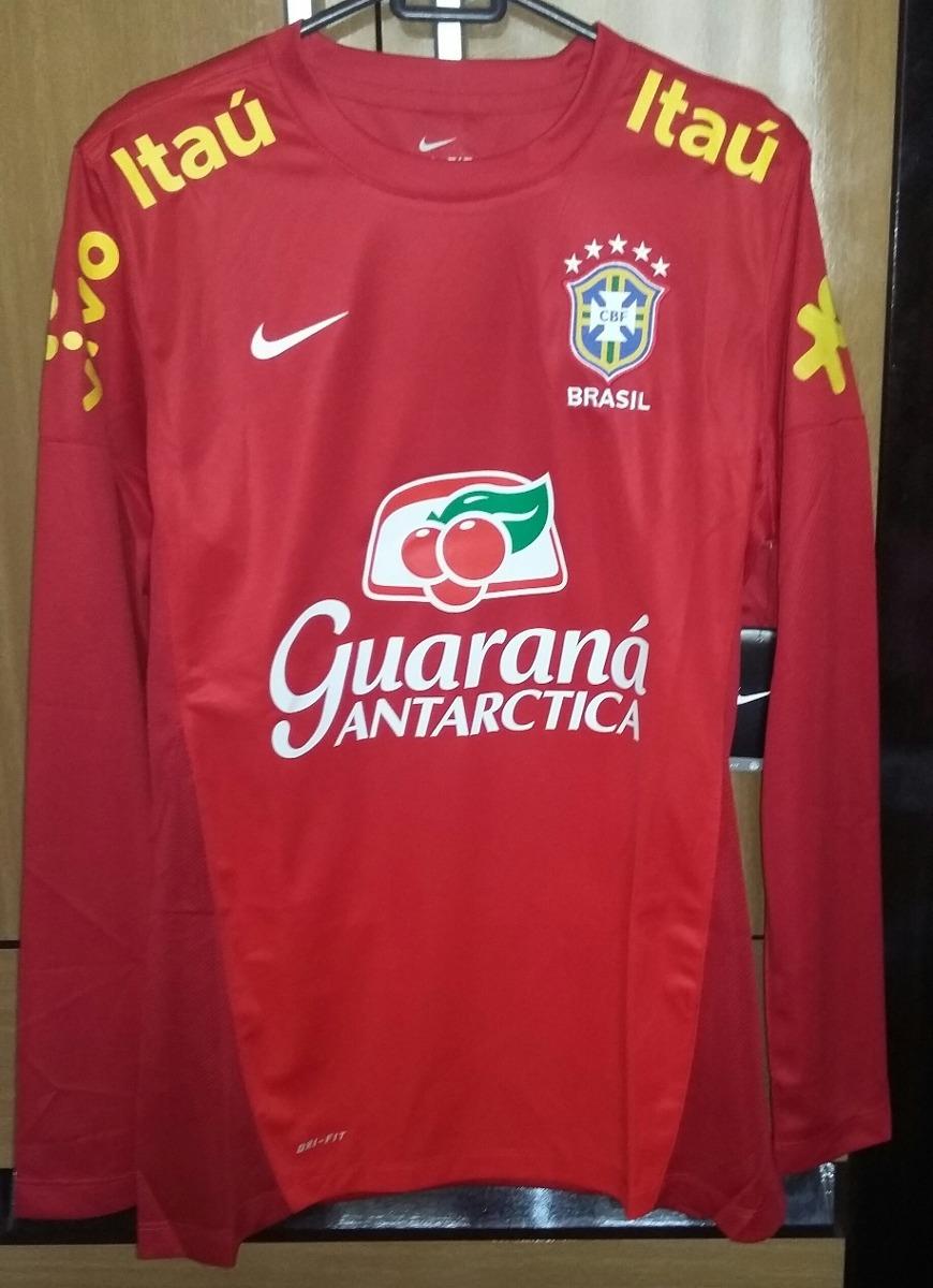 a788d1c5b09a4 Agasalho Treino Seleção Brasileira De Futebol - Nike - R  145