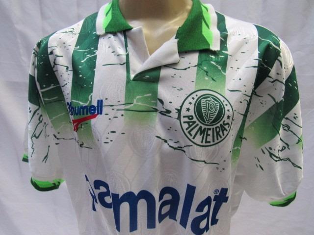 2414a0b4a5 antiga camisa de futebol palmeiras  10 rhumell parmalat 1996 · camisa  futebol palmeiras · futebol palmeiras camisa
