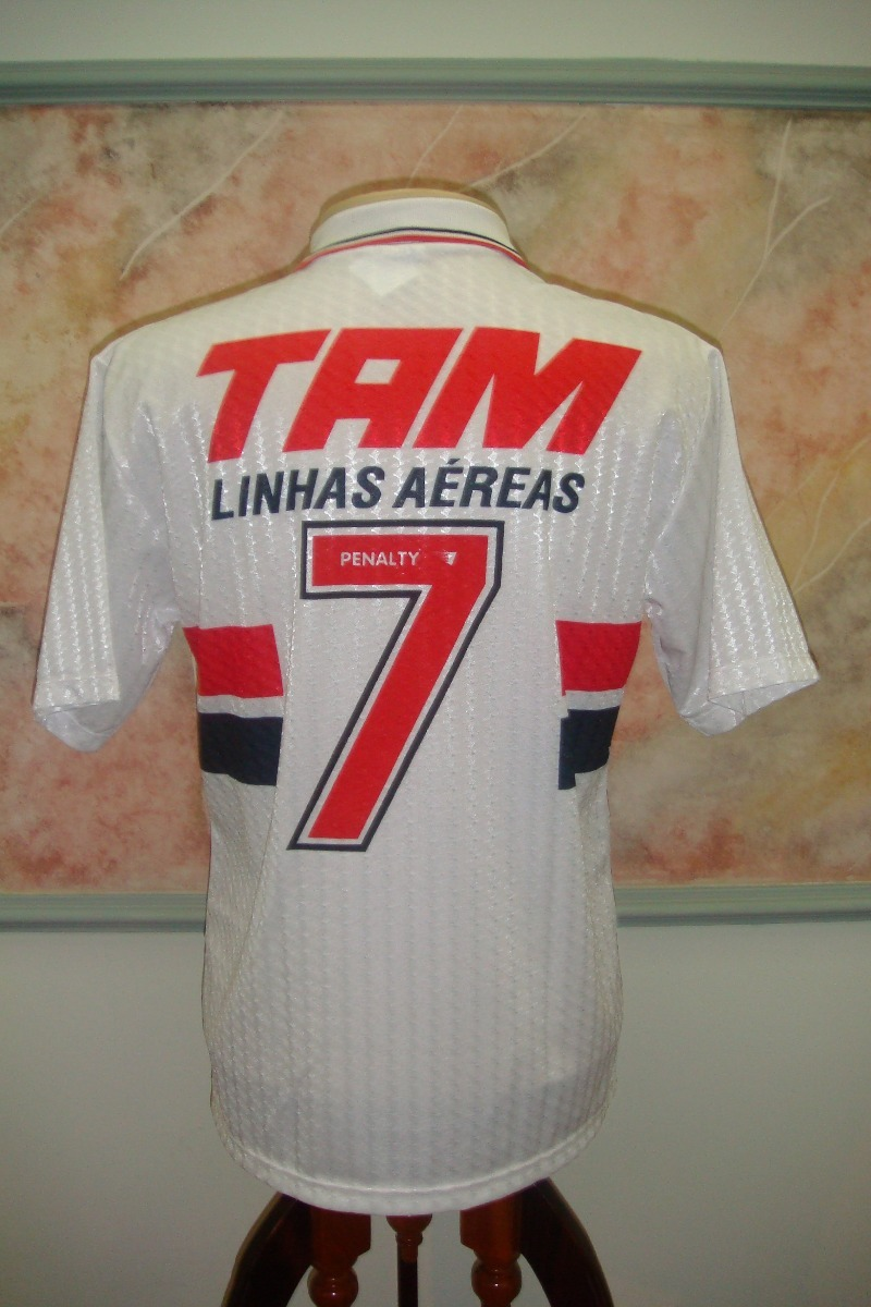39c4f49187 Camisa Futebol São Paulo Sp Penalty Antiga 921 - R  549