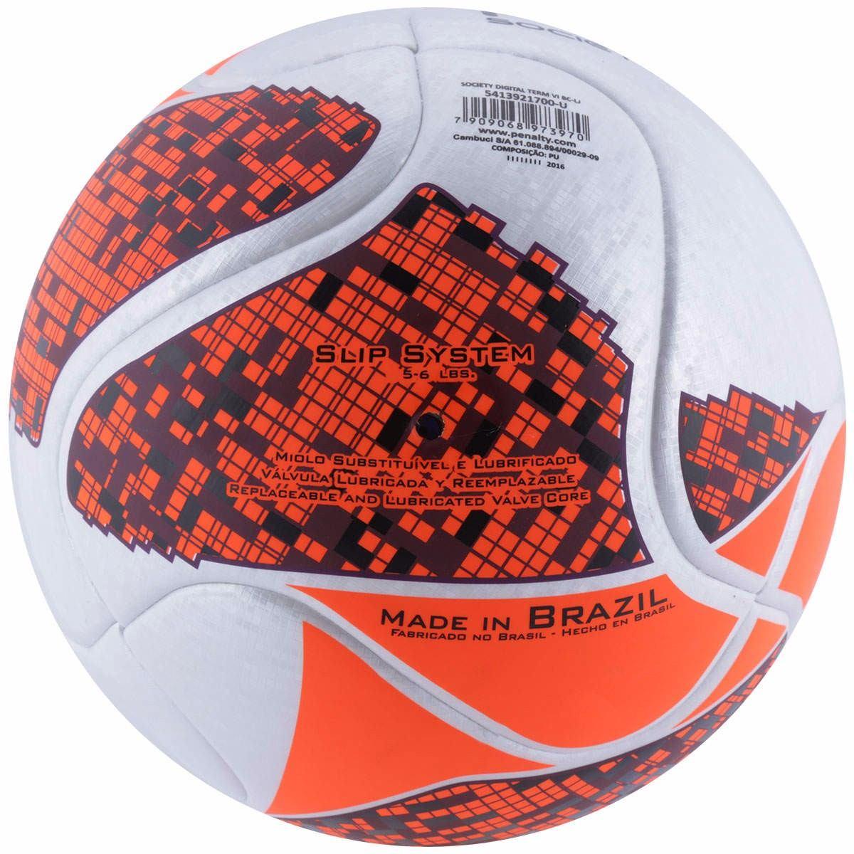 Carregando zoom... bola para futebol society penalty digital termotec 9d89905f6082a