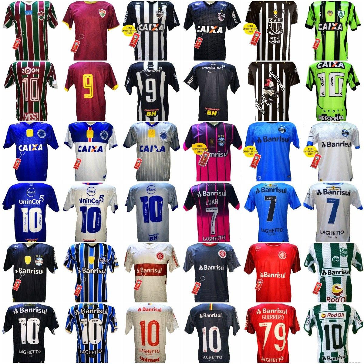 Camisa Futebol Kit 3 Por 69 fb9054461a339