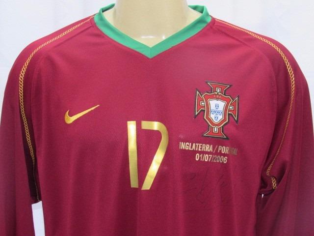 futebol portugal camisa · camisa futebol portugal  17 c. ronaldo copa 06  manga longa 1ee57dbea06e5