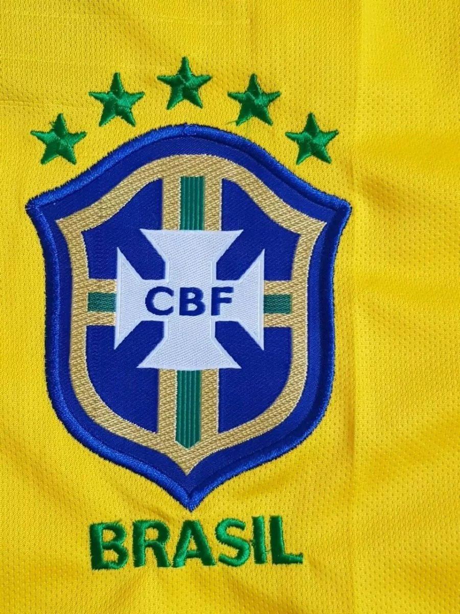 58cf5f5b35 Camisa Cbf De Futebol Seleção Brasileira Original Nike 2018 - R  164 ...