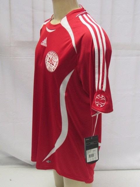 futebol seleção camisa · antiga camisa de futebol da seleção da dinamarca  adidas e349fd897b0f7