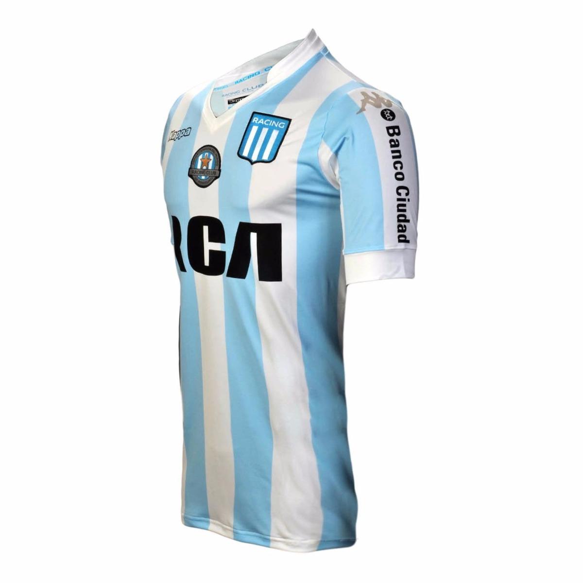 Carregando zoom... camisa futebol de time racing argentina kappa 2016 2017 64a421ddea25a