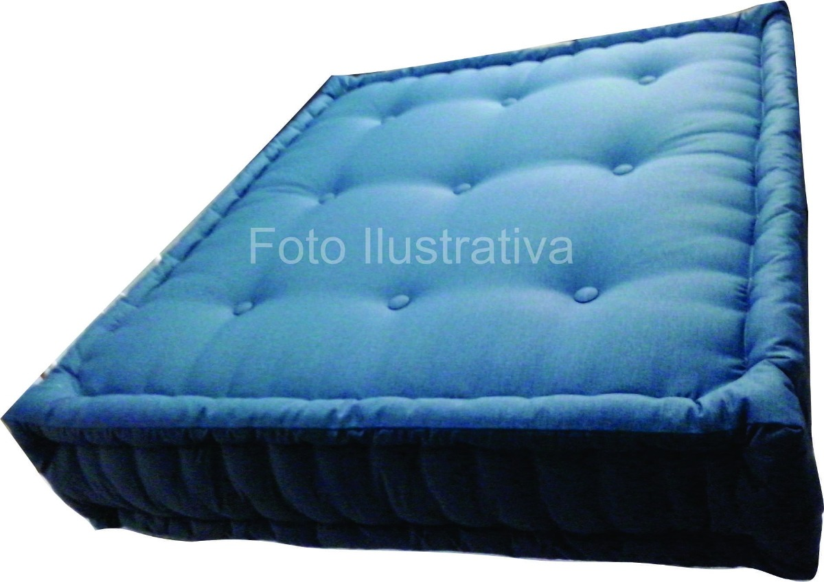 Futon almofada puff sof assento poltrona cadeira piscina for Futon de 2 plazas