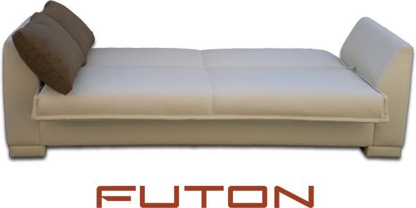 Futon Automatico/sofa Cama De 2 Plazas