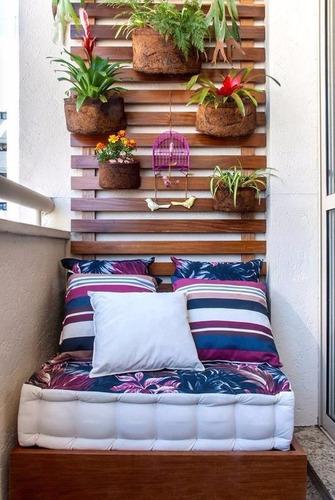 futon colchão turco para sacada jardim varanda