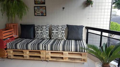 futon para pallet ou encosto sob medida