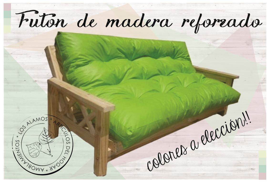 Futon Reforzado + Colchon. Solo Merlo Y Al Rededores. - $ 3.299,00 ...