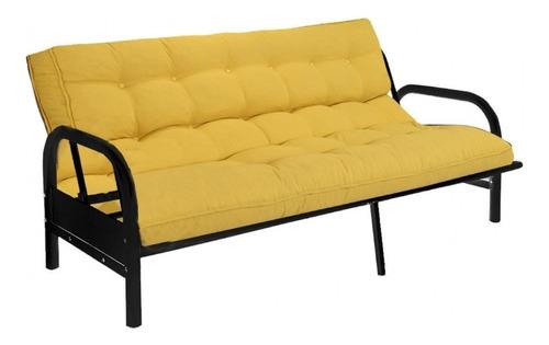 futon sillon cama caño mi casa 2 plazas con colchon