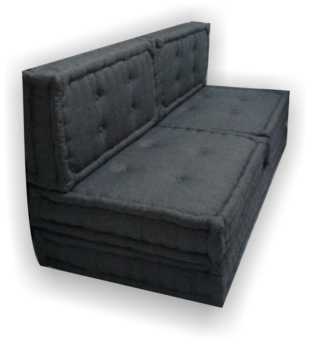 Futon sofa cama casal ou solteiro sob encomenda r 2 for Futon cama 1 plaza