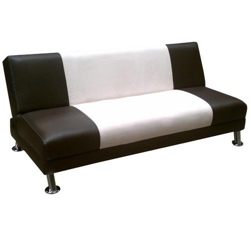 Futon sofa cama de 3 posiciones modelo atl ntico salas for Mercado libre sofa camas nuevos