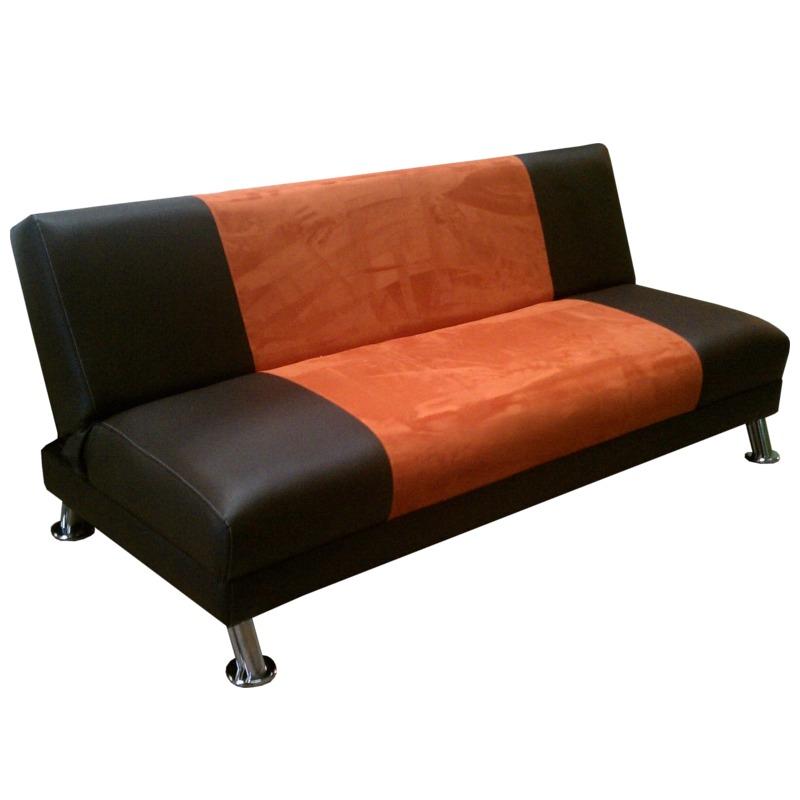 Futon sofa cama de 3 posiciones modelo atl ntico salas for Salas con sofa cama