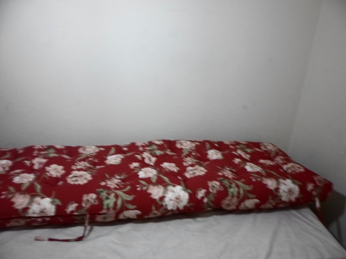 Futon sof cama dobr vel em s para pallets e banco r for Futon para sofa cama