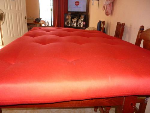 futones artesanales elaborados con productos naturales 6500$