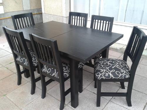futones mar del plata( mesa extensible y sillas )