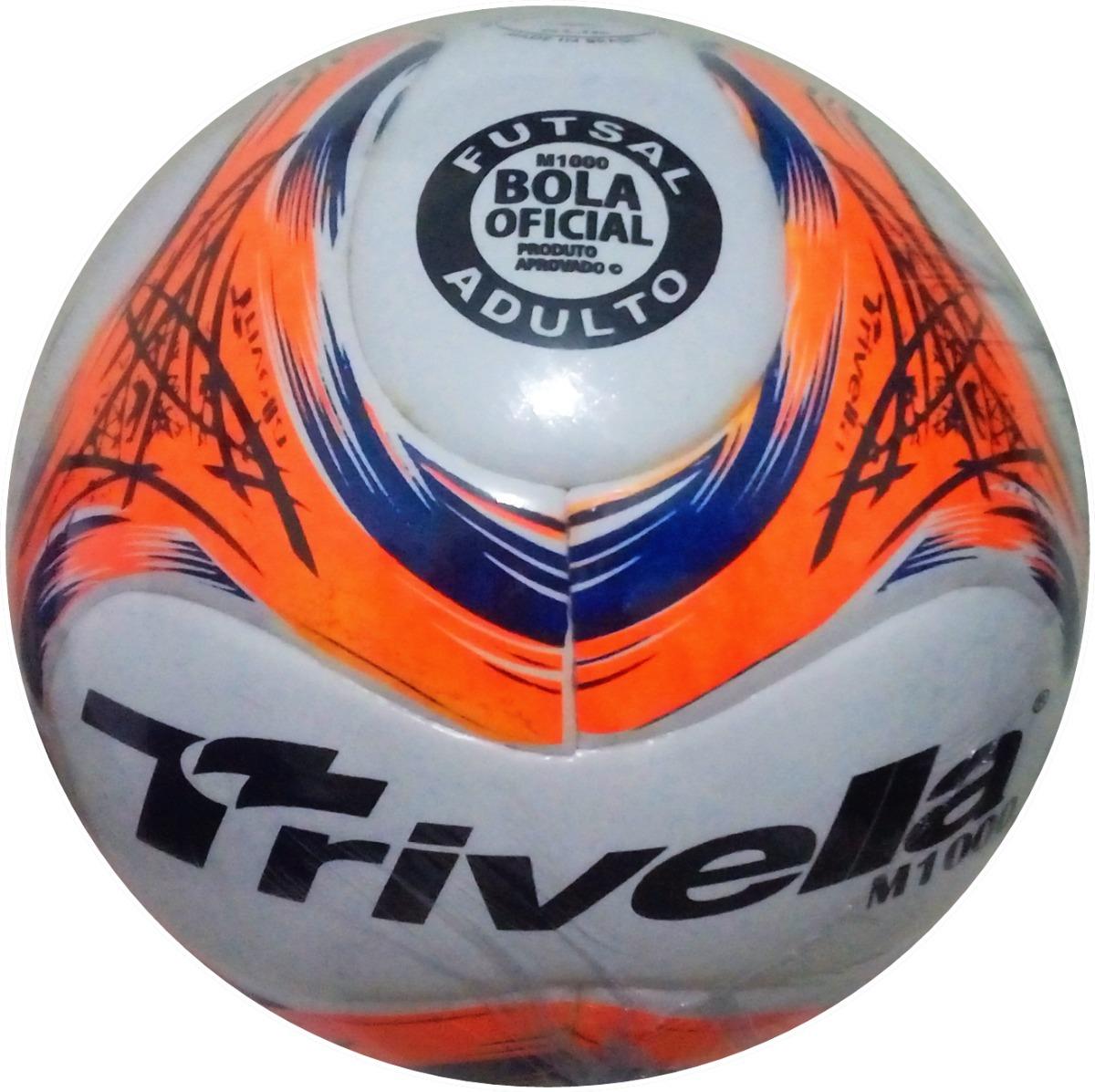 Bola Futsal Futebol Trivella Original Promoção - Brasil Gold - R  60 ... e59a2ed3698bf