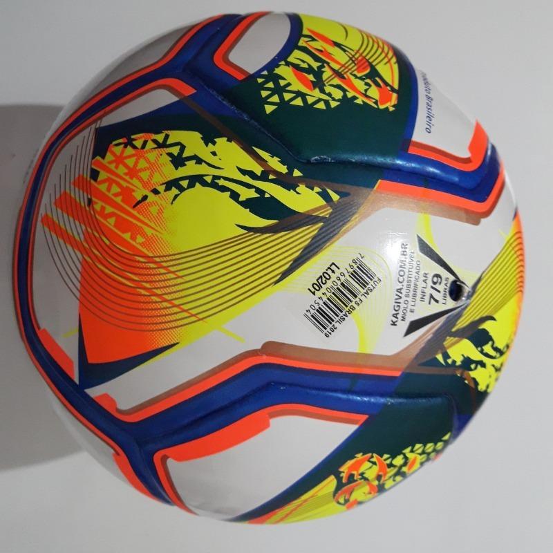 2f4a448c6c Bola Futsal Kagiva F5 Pro Brasil - Federações 2019 Oficial - R  115 ...
