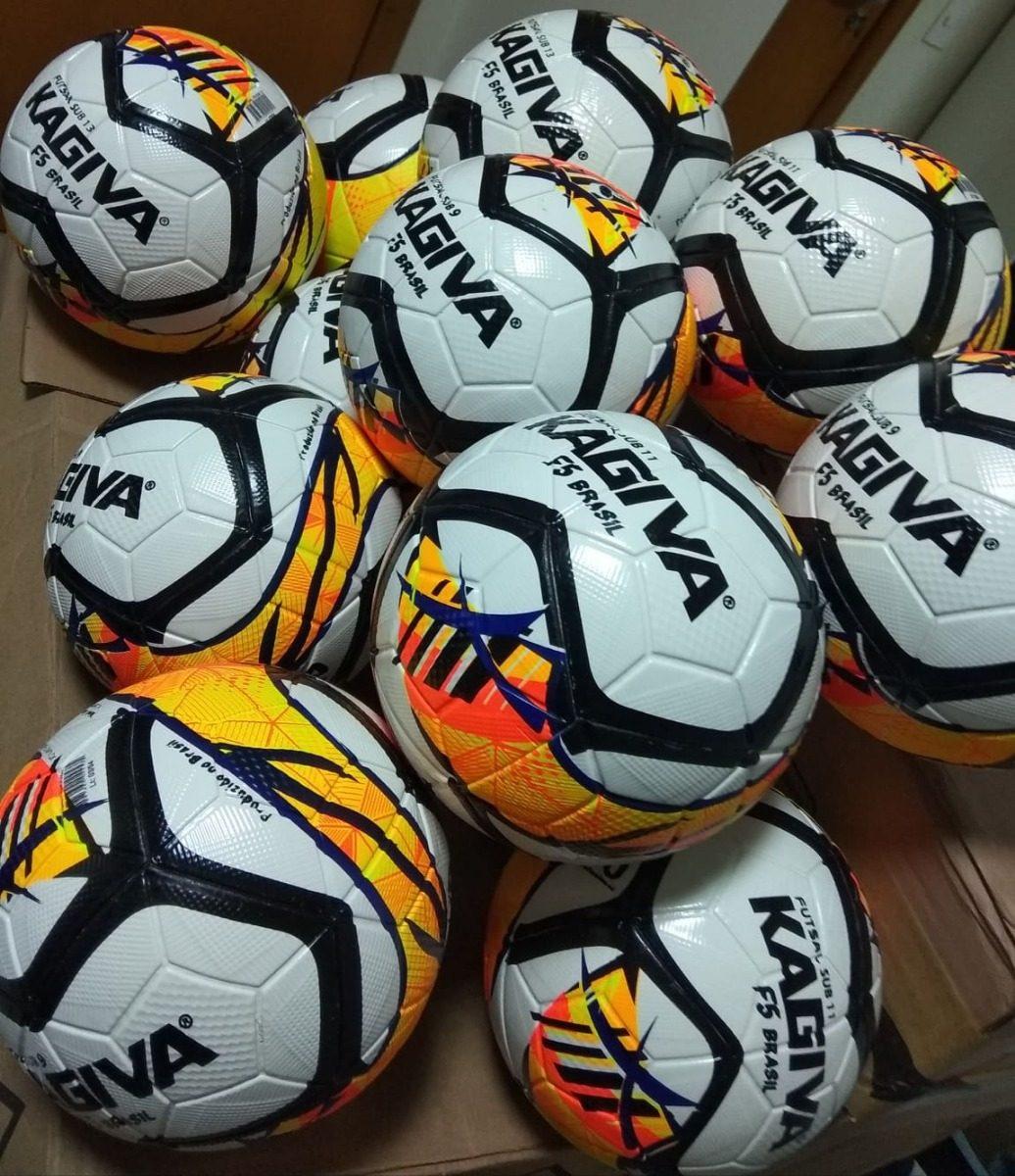 Bola Futsal Kagiva F-5 Brasil Infantil 257c8785bb631