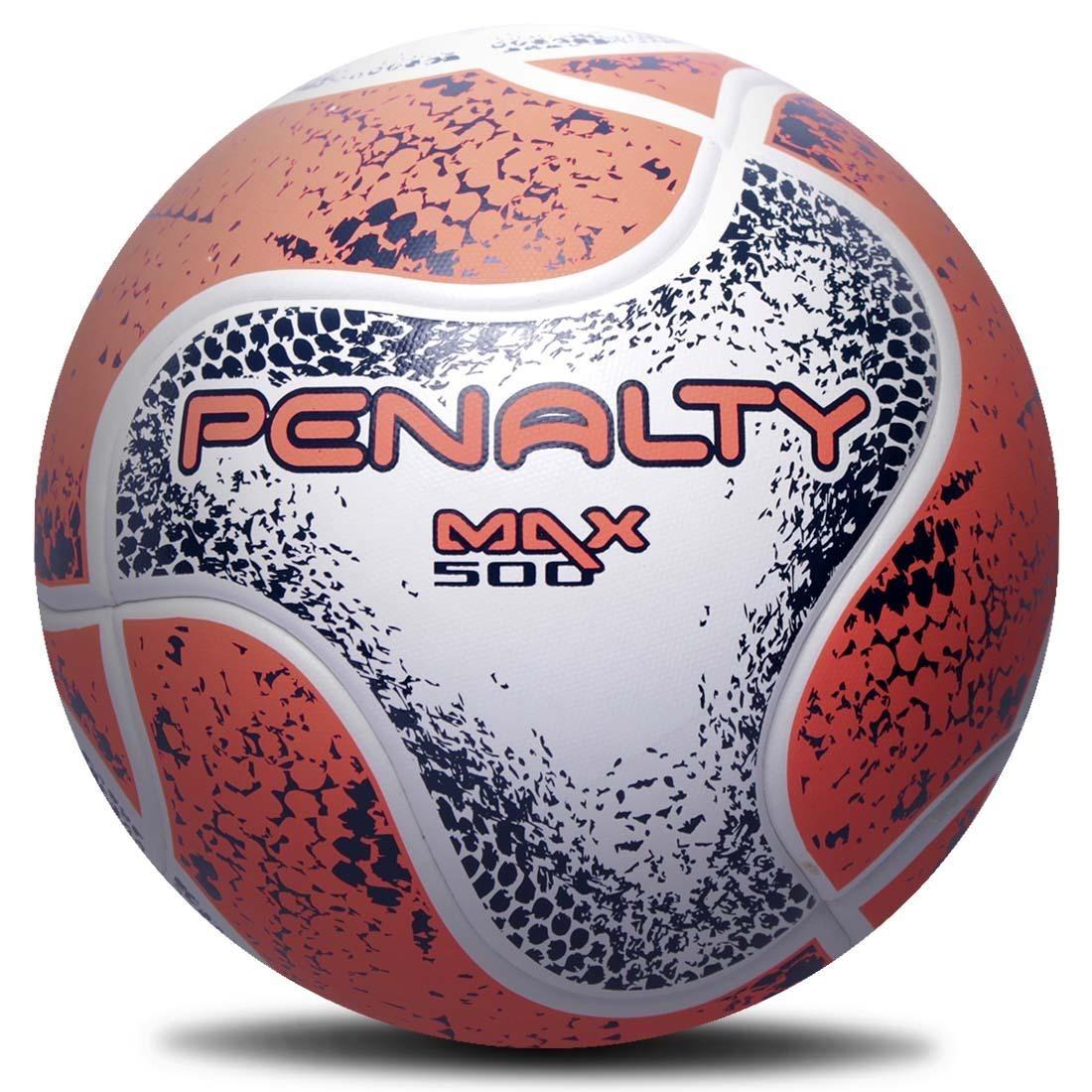 3d8462af48 Carregando zoom... kit 3 bolas futsal penalty max 500 termotec 2018