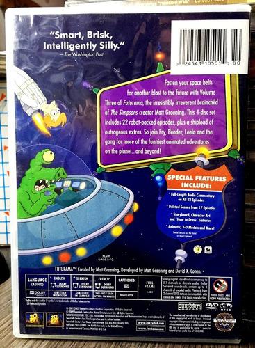futurama - volumen 3 (2001) 4 dvds