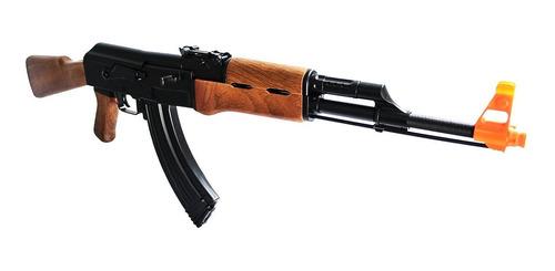 fuzil ak47 rifle elétrico airsoft automático cyma 410 fps