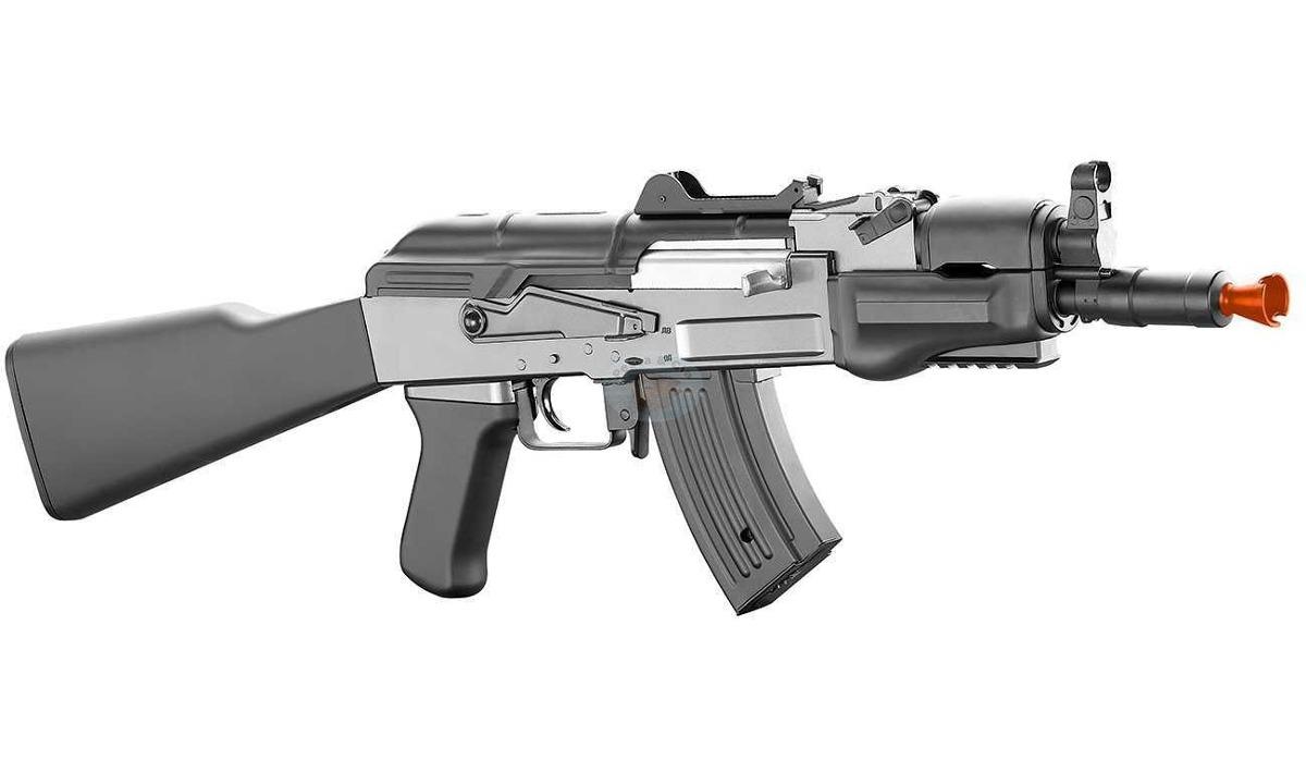 Fuzil Metralhadora Ak 47 Airsoft + Caixa + Manual + Nf - R$ 1.390,00 em Mercado Livre