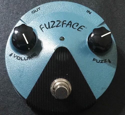 fuzz face jimi hendrix mini dunlop pedal