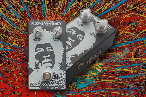fuzzy lady fuzz de germanio boutique / tesla electronics