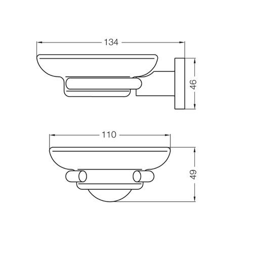 fv 168/39 jabonera libby accesorios