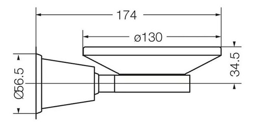 fv 168/84 jabonera chess cromo accesorios