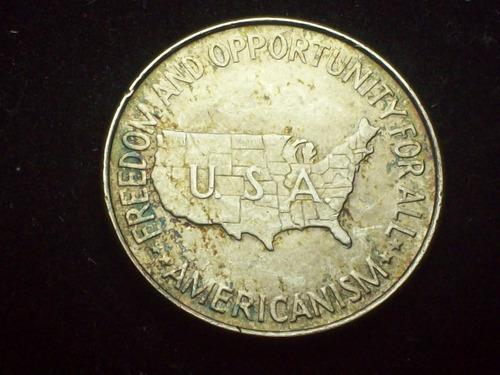 fv * estados unidos 1952 - ½ dolar de plata carver