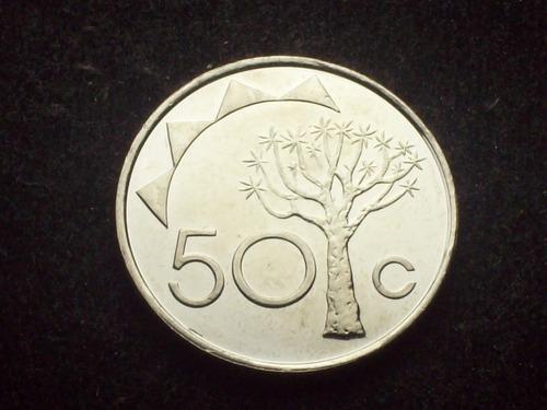 fv * namibia 2010 - 50 cents unc