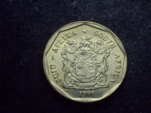 fv * sudafrica 1991 - 50 cents unc