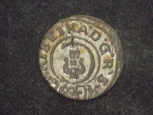 fv * suecia 1649 - 1 solidus de vellón
