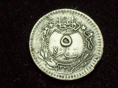 fv * turquia 1913 - 5 para