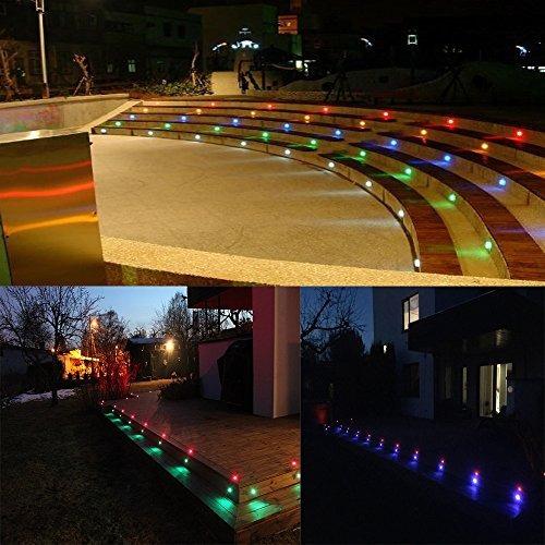 fvtled bajo voltaje 20 unids multi-color rgb led luces de la